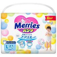 花王 Merries 妙而舒 学步裤 L27片 +凑单品