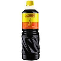 限地区:李锦记 酱油 味极鲜酱油 1L/瓶 *10件