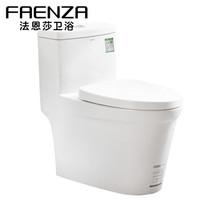 法恩莎(FAENZA)FB16188 L 卫浴马桶坐便器 大冲力防臭节水喷射虹吸式座便器 *2件