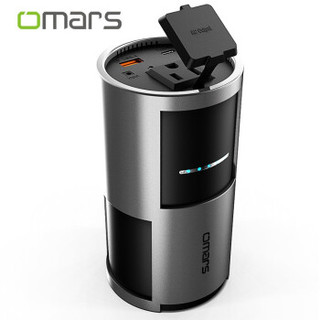 OMARS笔记本充电宝85W苹果电脑快充无人机野营通用便携式带插座户外移动电源220V大容量摆摊神器 黑色