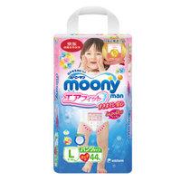 moony 尤妮佳 畅透系列 女宝宝拉拉裤 L44片 *2件