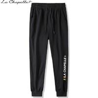 百亿补贴: La Chapelle+ 拉夏贝尔 男士束脚九分运动裤