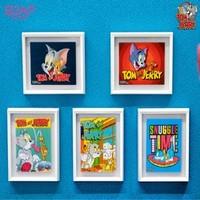 soapstudio 猫和老鼠 美术馆系列磁贴画迷你艺术画盲盒 随机1款
