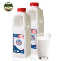 美国进口牛奶 卡富芮氏 Calphresh 巴氏杀菌低温奶 全脂鲜牛奶964ml*2