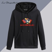 La Chapelle 拉夏贝尔 男士长袖纯棉连帽卫衣