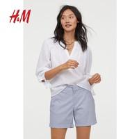 HM 0599719 女士直筒短裤