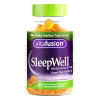 Vitafusion SleepWell 褪黑素片咀嚼软糖 60粒 *2件