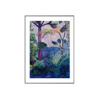 艺术品:亨利 马蒂斯-摩洛哥风景画 金色框 画框尺寸50*40cm