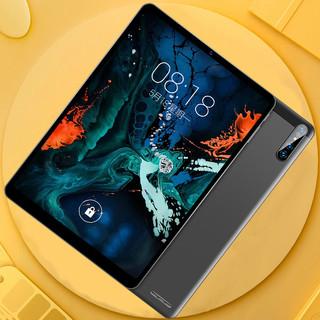 小米派平板电脑iPad2020新款十核超薄三星大屏12寸全网通5G安卓手机学习游戏二合一华为吃鸡专用紫光官网旗舰(经典蓝(旗舰-升级款)、移动联通+4GwiFi【影音版】、128GB、官方标配)