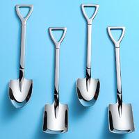 移动专享:双胜 304不锈钢铁锹勺子 常规款 4只装
