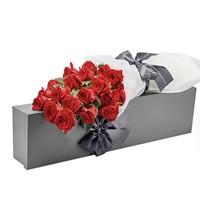 七夕红玫瑰礼盒  19朵