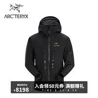 ARC'TERYX始祖鸟 男子 硬壳冲锋衣 GORE-TEX Pro Alpha SV  夹克 24Kblack/黑色 M(175/102A)