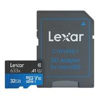 百亿补贴:Lexar 雷克沙 633x TF存储卡(64GB、UHS-I)