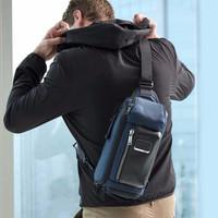 双11预售: TUMI 途明 Alpha Bravo系列 Kelley 男士单肩胸包