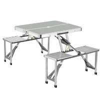 山头儿 铝合金便携折叠桌椅套件