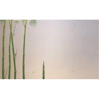 艺术品:Yuttana 原作油画《竹歌》 现代简约艺术品挂画空间装饰画