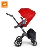 Stokke Xplory V6 黑车架款婴童车高景观婴儿推车四轮儿童推车