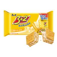 康师傅 3+2苏打夹心饼干 300g *5件