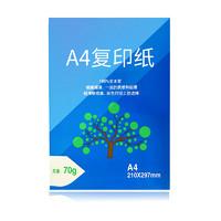 HP 惠普 A4纸复印纸 70g 单包 50张