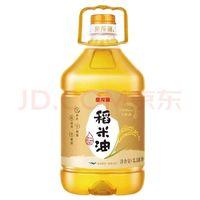 京东PLUS会员:金龙鱼 食用油 3000PPM稻米油3.58L *2件