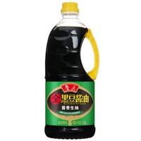 鲁花 全黑豆酱香生抽酱油 1.98L *5件