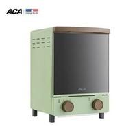 聚划算百亿补贴:ACA 北美电器 ATO-M12D 迷你烤箱 12L 复古绿