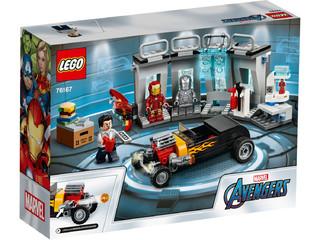 LEGO 乐高 超级英雄系列 76167 钢铁侠机甲库