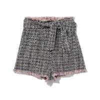I.T IRO女士饰腰带花呢短裤