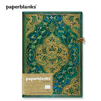 paperblanks 绿松石编年史系列 古典森林绿色系 精装复古笔记本 *2件