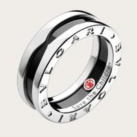 BVLGARI 宝格丽 Save The Children 慈善款 AN855770 黑陶瓷中性戒指