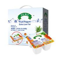 限地区、京东PLUS会员:多美鲜 杏菠萝果粒杯装酸奶 100g*12杯 *5件