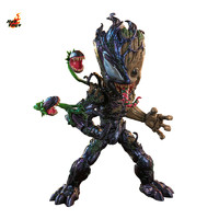 玩模总动员、小编精选、新品发售:Hot Toys《蜘蛛侠:最大毒液》毒液化格鲁特1:1比例珍藏人偶