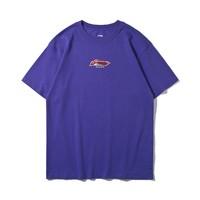唯品尖货 : LI-NING 李宁 AHSP287-5 男士 印花休闲 短袖T恤