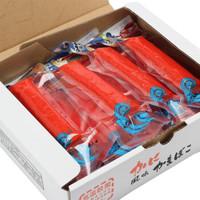 日本原装进口 丸玉蟹肉棒整箱15只装常温海鲜北海道长脚蟹肉蟹棒即食零食手撕蟹柳寿司泡面搭档