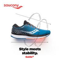 历史低价:saucony 索康尼 Saucony Guide 13 稳定支持跑鞋+运动短袖