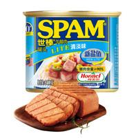 有券的上:SPAM 世棒 午餐肉罐头 清淡味 340g *6件