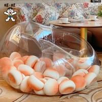 Want Want 旺旺 旺仔小馒头充气沙发(限量款)