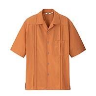 UNIQLO 优衣库 UQ426176000 男士古巴领衬衫