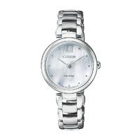CITIZEN 西铁城 花语风吟系列 VIP-EM0530-81D 贝母表盘女士手表