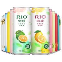 锐澳(RIO) 鸡尾酒 果酒 欢享全家福 330ml*12罐 *3件