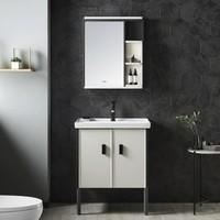 新品发售:ARROW 箭牌卫浴 馥郁系列 实木防潮浴室柜 70尺寸柜(不含龙头下水)