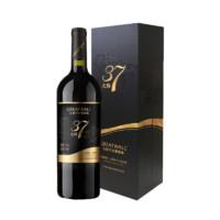 99美酒节:长城 正品北纬37特级精选赤霞珠干红葡萄酒红酒   750ml礼盒装