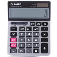 SHARP 夏普 EL-M1200 12位财务办公商务计算器 *3件 +凑单品