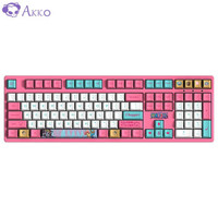AKKO 3108V2航海王乔巴 BPT热升华键帽 电竞吃鸡游戏键盘 有线机械键盘 台式机笔记本电脑 108键 橙轴