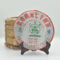 八角亭 黎明茶厂 勐海 普洱茶 生茶 2009年 0432 357克