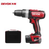 Devon 大有 5230-Li-12TSI 12V 锂电池充电式双速三功能冲击钻