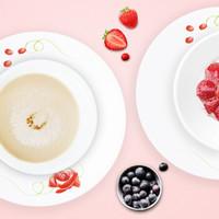 Corelle 康宁  匈牙利玫瑰餐具4件套