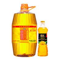 88VIP:胡姬花 古法特香型压榨花生油 5.436L 赠瓶装小油 *2件