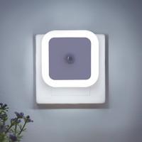 移动专享: oloey 无线光控感应灯泡 方形白光 光感自动 2个装