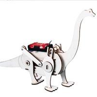 移动专享:哦咯  DIY科技小制作 电动小腕龙